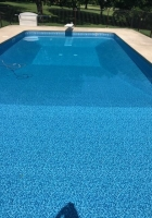 Sunburst Wall  w dive board - Crystal Blue OK